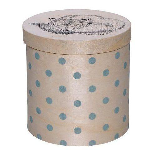 Pudełko z liskiem w niebieskie kropki - Bloomingville, 50205593