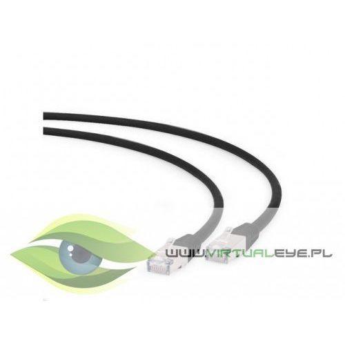 Gembird Patch cord s/ftp kat6a lshz 0.25m czarny