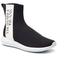 Sneakersy TRUSSARDI JEANS - 77A00155 K308, kolor czarny