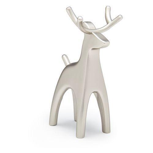 Stojak na pierścionki Umbra Anigram Reindeer nikiel