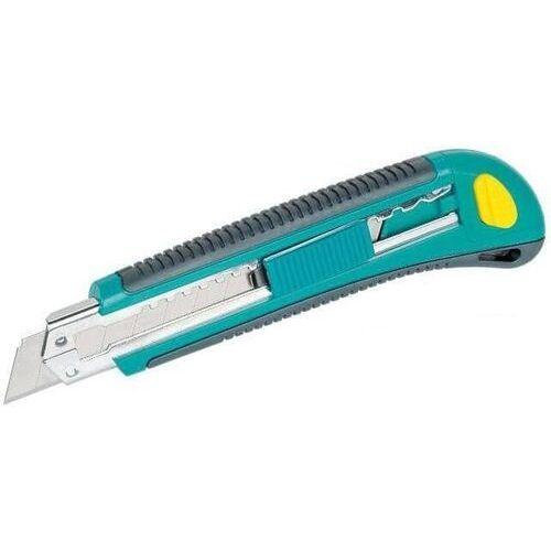 nóż z odłamywanym ostrzem 18mm uchwyt 2-komponentowy; 3 ostrza w magazynku 4138000 marki Wolfcraft