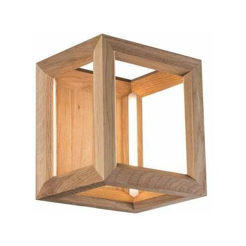 kago led 9152174 kinkiet lampa ścienna 1x9w led drewno marki Spot light