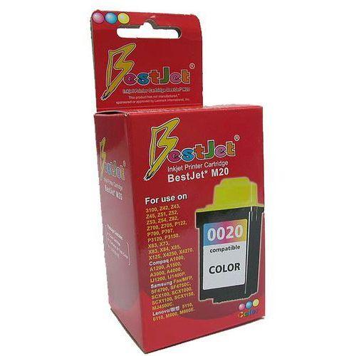 Zastępczy atrament lexmark 20 [15mx120e =15m0120] color 100% nowy marki Orink