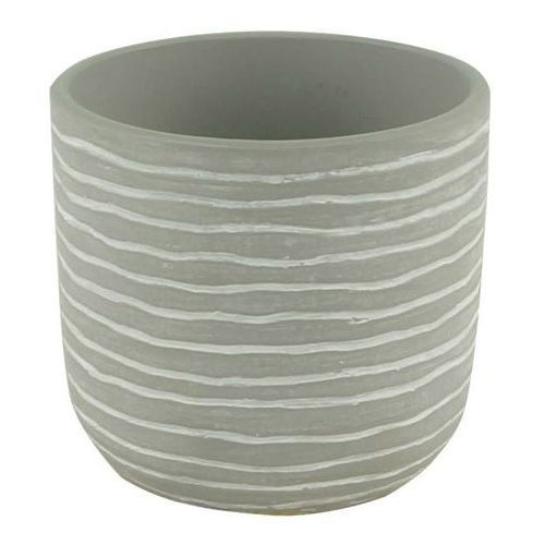 Doniczka ceramiczna GoodHome ozdobna 10,5 cm stripe, C22