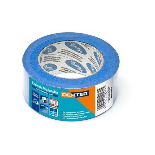 Taśma malarska BLUE MASKING 48 mm x 50 m DEXTER (5901171147172)