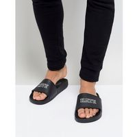 love hate slider flip flops - black, Brave soul