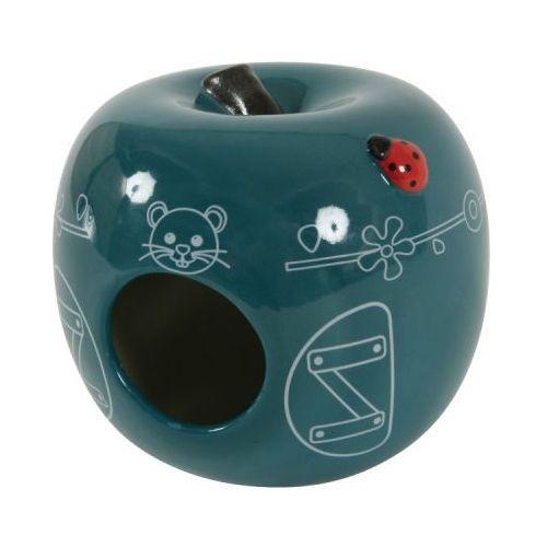 ZOLUX Domek Ceramiczny Jabłko Niebieski- RÓB ZAKUPY I ZBIERAJ PUNKTY PAYBACK - DARMOWA WYSYŁKA OD 99 ZŁ (3336022066692)