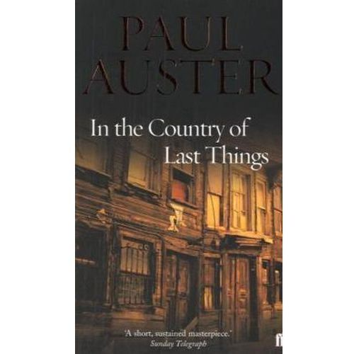 In the Country of Last Things, Auster, Paul