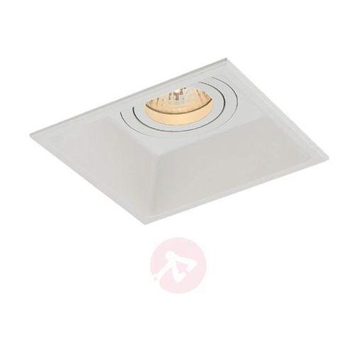 Elastyczna lampa downlight SULA w białym kolorze