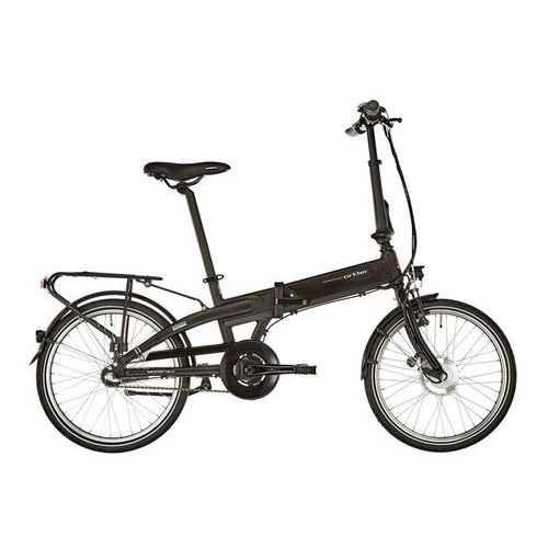 """stratford rower elektryczny miejski 20"""" czarny 20"""" (20"""") 2018 rowery elektryczne marki Ortler"""