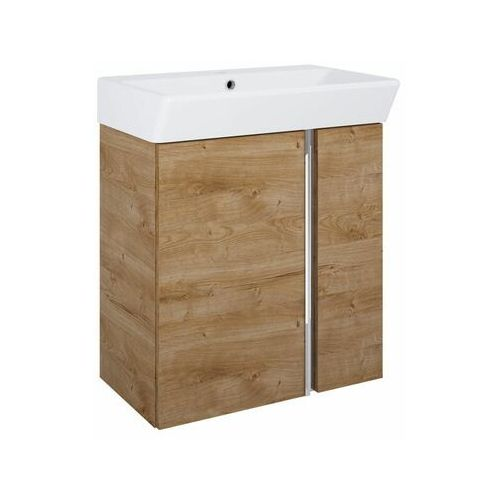 Sensea Zestaw szafka z umywalką arris 60 (5901171257956)