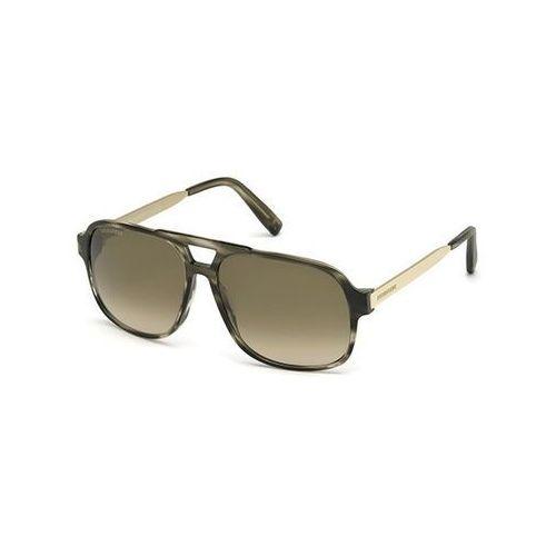 Okulary Słoneczne Dsquared2 DQ0203 Benjamin 50P, kolor żółty