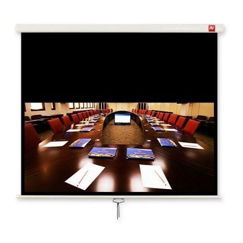 Avtek  ekran ścienny ręczny cinema 200. 16:9. 200x200cm. powierzchnia biała. matowa - bez zakładania konta - ekspresowe zakupy!