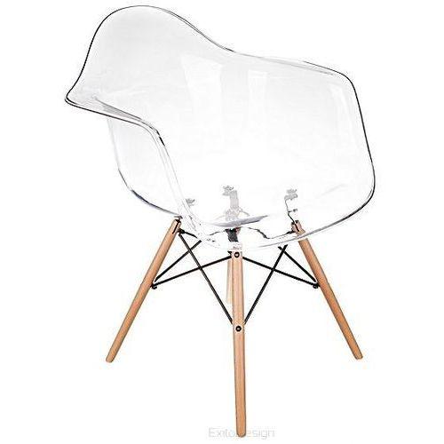 Nowoczesne krzesło eteo daw transparentne marki Inspirowane
