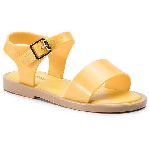 Melissa Sandały - mini melissa mar sandal iii bb 32633 yellow 51556