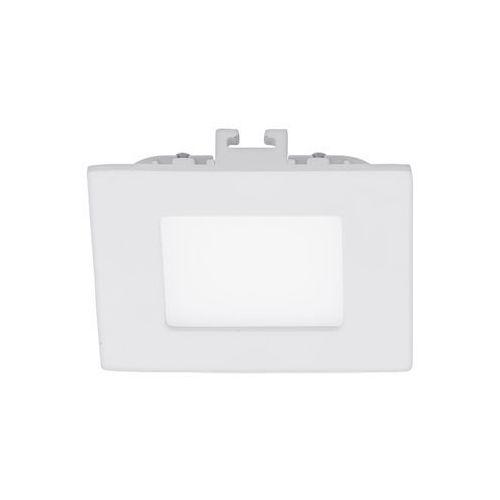 Plafon Eglo Fueva 1 94046 lampa sufitowa oprawa downlight oczko 1x2,7W LED biały kwadr., 94046