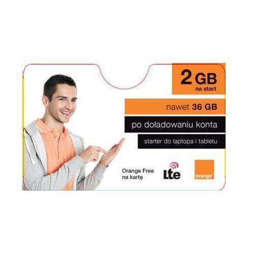 Orange Starter free na kartę 2gb na start