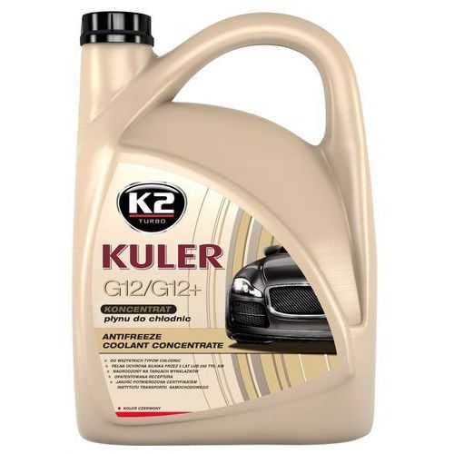 Płyn do chłodnic K2 Kuler - czerwony (koncentrat) 5 Litrów