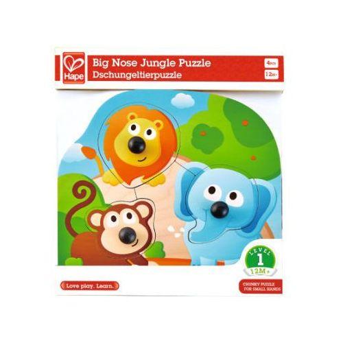 Hape puzzle-układanka, zwierzątka dżungli (6943478018761)