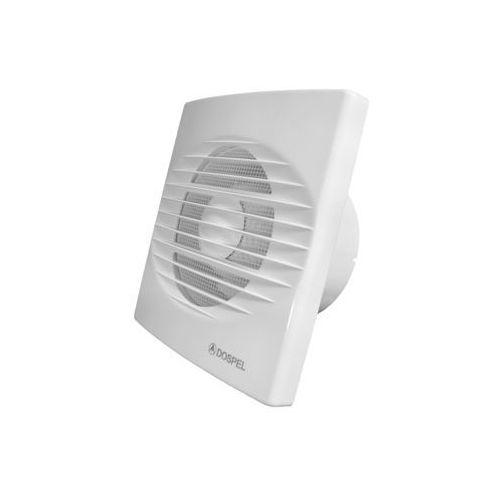 Wentylator ścienny Dospel RICO 100 WCH 007-4204 domowy łazienkowy z higrostatem i wyłącznikiem czasowym (5901560516008)