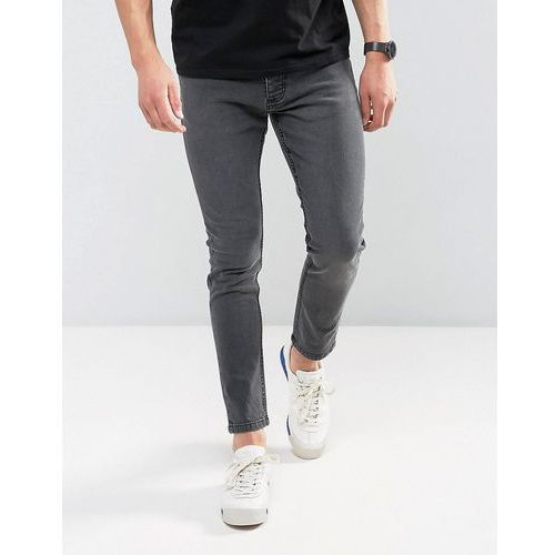 Brave Soul Skinny Jeans - Grey, jeans