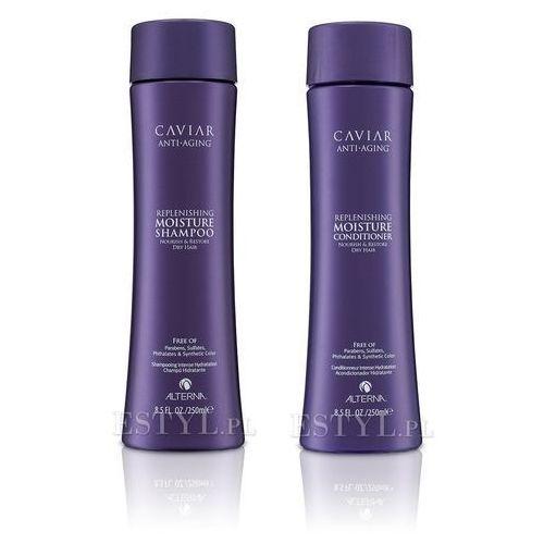 Alterna  caviar moisture zestaw nawilżający | szampon 250ml + odżywka 250ml