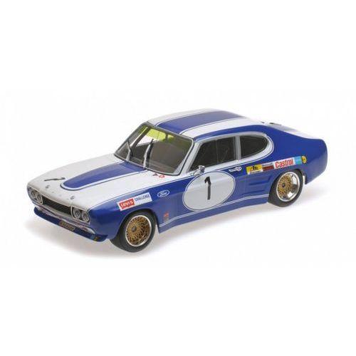 Minichamps Ford capri rs 2600 ford deutschland #1 dieter glemser winner brno etc 1972 (4012138133181)