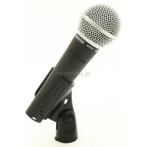 SHURE SM 58 LCE - mikrofon dynamiczny, towar z kategorii: Mikrofony