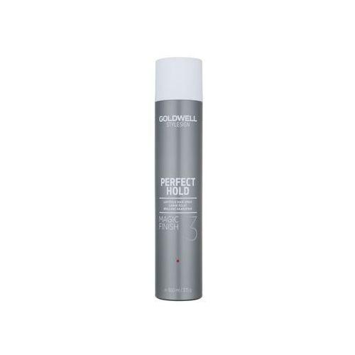 Goldwell StyleSign Perfect Hold lakier do włosów by dodać włosom olśniewającego blasku (Magic Finish 3) 500 ml