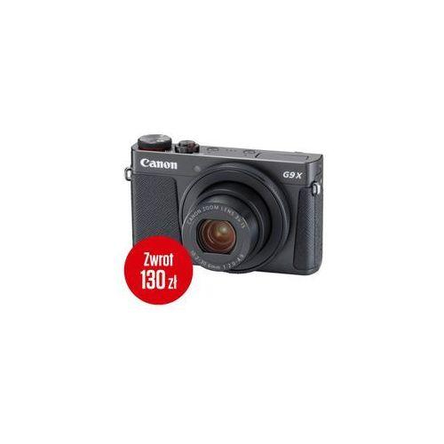 Canon PowerShot G9 X Mark II czarny - Cashback 130zł