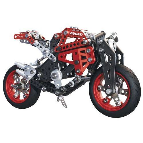 Meccano motocykl ducati monster 1200s, czerwony, 6027038