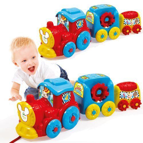 Pociąg disney baby activity train + darmowy transport! marki Clementoni