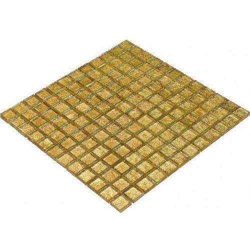 Goccia mosaico Goccia color line mozaika szklana złota, 30x30 cm cls1601