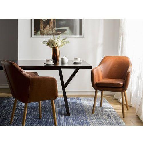 Krzesło do jadalni koniakowe YORKVILLE (4260586356175)