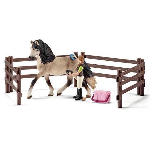 zestaw do pielęgnacji koni andaluzyjskich od producenta Schleich