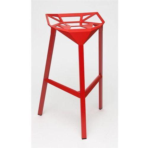 0873 stołek barowy gap czerwony marki D2