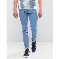 Weekday Friday Skinny Fit Jeans Cash - Blue, jeansy