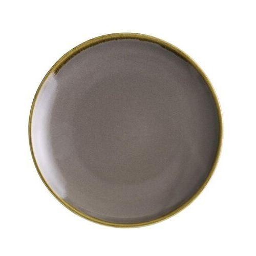 Olympia Okrągłe talerze w ciemnoszarym kolorze 178mm kiln (zestaw 6 sztuk)