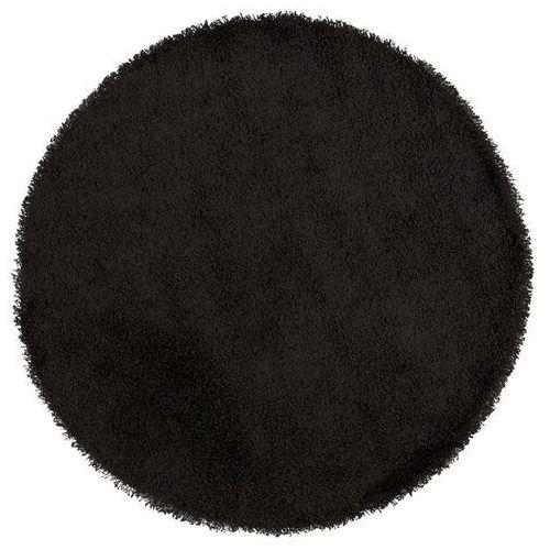 - dywan shaggy 200 cm - czarny marki Kokoon design