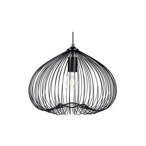 Lampa wisząca metalowa czarna TORDINO, kolor Czarny