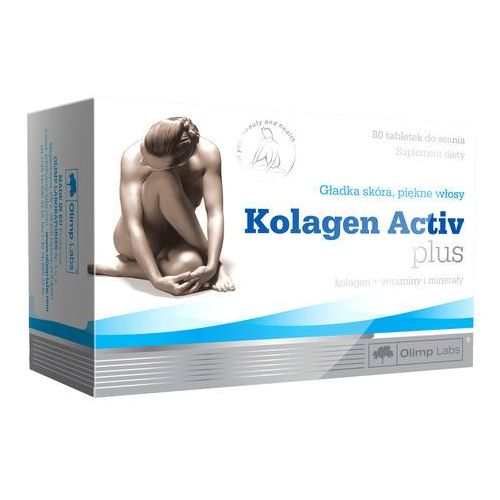 Olimp KOLAGEN Activ Plus 80 tabletek do ssania (5901330004131)