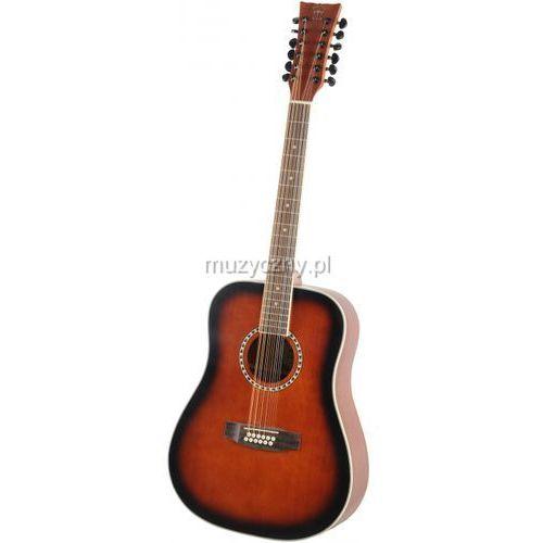 Morrison  barcelona 1003d-12 matt gitara akustyczna dwunastostrunowa