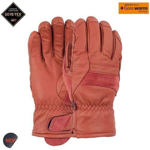 Pow - stealth gtx glove + warm auburn (au) rozmiar: l