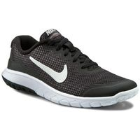 Nike Buty - flex experience 4 (gs) 749807 001 blk/mtlc drk gry anthrct white