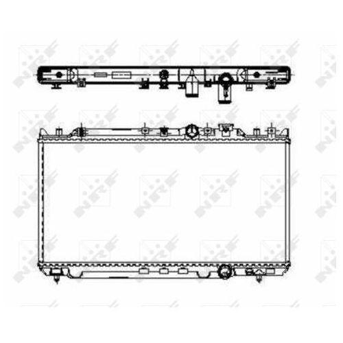 Nrf Chłodnica, układ chłodzenia silnika  509652
