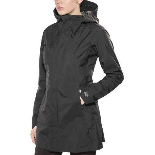codetta kurtka kobiety czarny l 2018 kurtki przeciwdeszczowe marki Arc'teryx