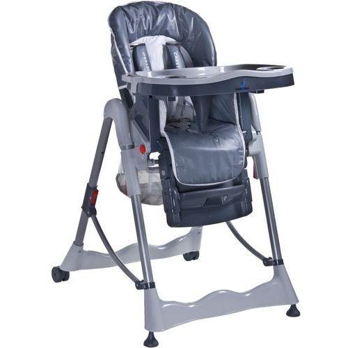 Krzesełko do karmienia CARETERO Magnus Classic szary + DARMOWY TRANSPORT!, TERO-733