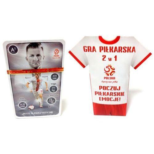 Gra Piłkarska 2w1 PZPN (Koszulka) Cartamundi