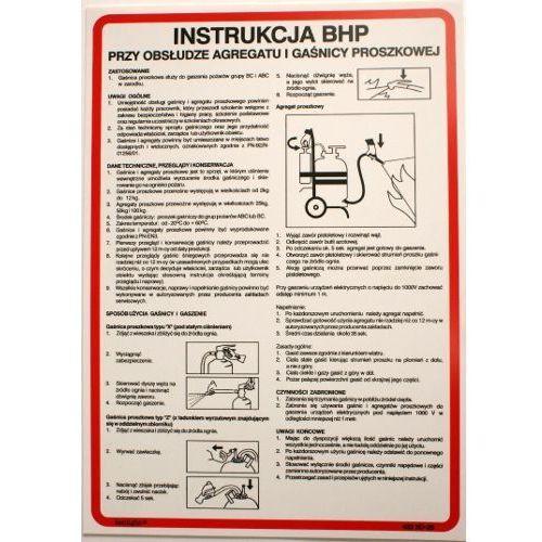 Techem Instrukcja bhp przy obsłudze agregatu i gaśnicy proszkowej. Najniższe ceny, najlepsze promocje w sklepach, opinie.