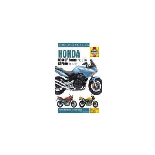Honda CB600F Hornet Service and Repair Manual (9780857339409)